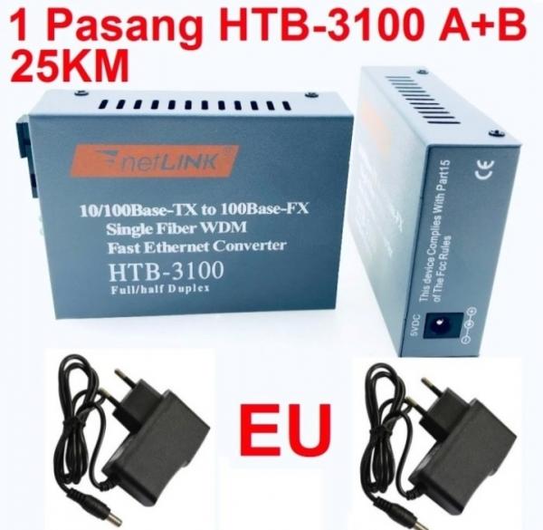 Converter Netlink Htb-3100 A & B